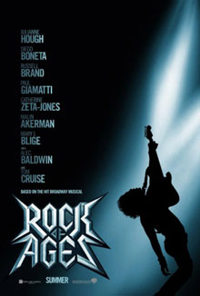 cartaz de Rock of Ages: O Filme