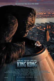 cartaz de King Kong
