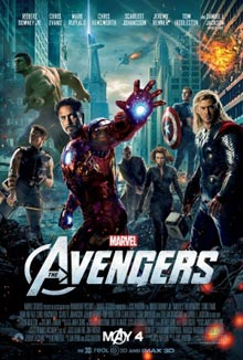 cartaz de The Avengers - Os Vingadores