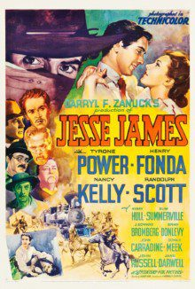 cartaz de Jesse James