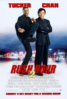 cartaz de A Hora do Rush 2