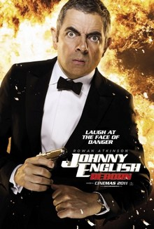 cartaz de O Retorno de Johnny English