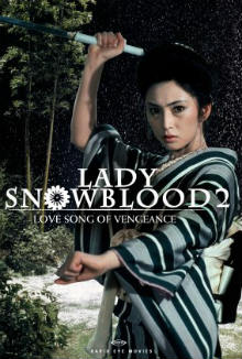 cartaz de Lady Snowblood 2: Love Song of Vengeance