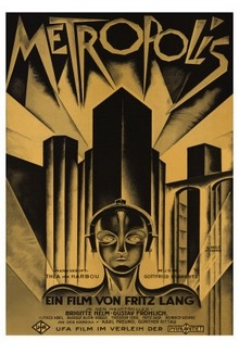 Metropolis by Thea Von Harbou. Vintage Science Fiction. 1963. Ace Books