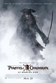 cartaz de Piratas do Caribe: No Fim do Mundo