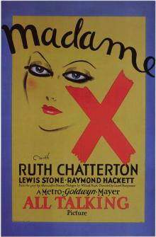 cartaz de Madame X