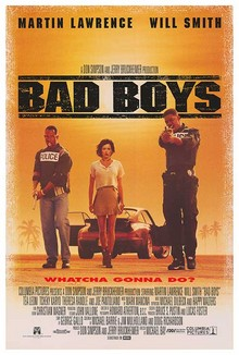 cartaz de Os Bad Boys