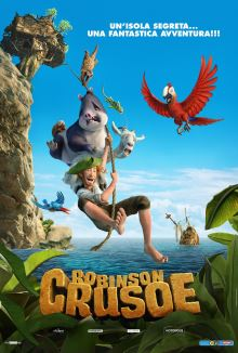 cartaz de As Aventuras de Robinson Crusoé