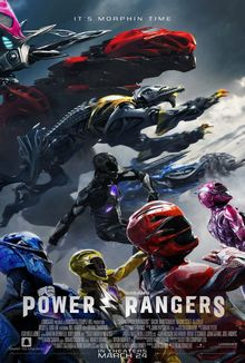 cartaz de Power Rangers: O Filme