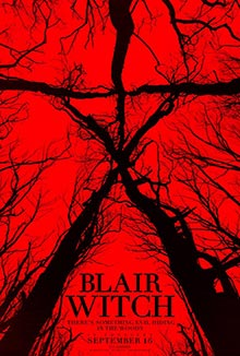cartaz de Bruxa de Blair