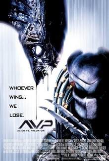cartaz de Alien Vs. Predador