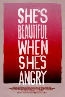 cartaz de She's Beautiful When She's Angry