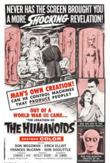cartaz de The Creation of the Humanoids
