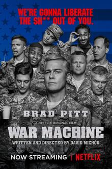 cartaz de War Machine