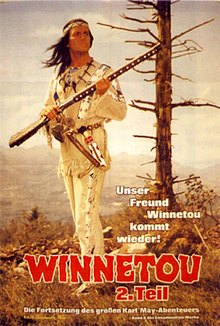 cartaz de Winnetou