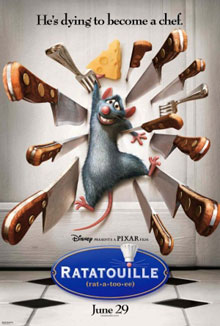 cartaz de Ratatouille