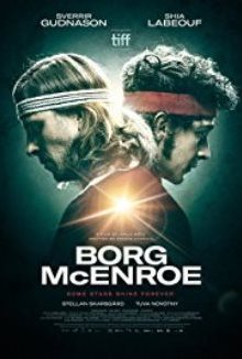 cartaz de Borg vs McEnroe