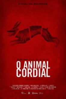 cartaz de O Animal Cordial