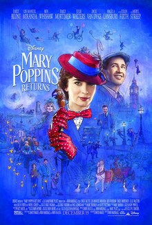 cartaz de O Retorno de Mary Poppins