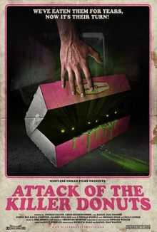 cartaz de Attack of the Killer Donuts