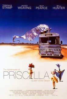 cartaz de Priscilla, A Rainha do Deserto