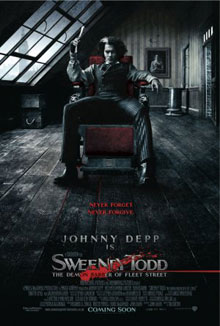 cartaz de Sweeney Todd: O Barbeiro Demon�aco da Rua Fleet