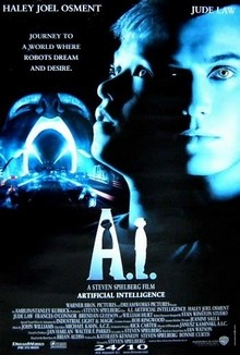 cartaz de A.I. - Intelig�ncia Artificial