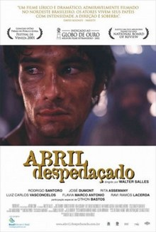 cartaz de Abril Despedaçado